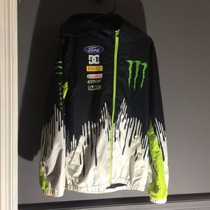 DC Jackets & Coats - Ken Block-Monster Energy DC Wind/Rain Jacket